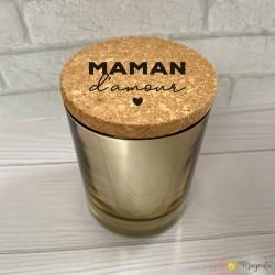 Bougie parfumée Maman d'amour