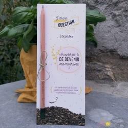 Crayon à planter - demande marraine