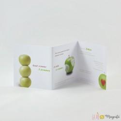 Faire-part Pommes vertes